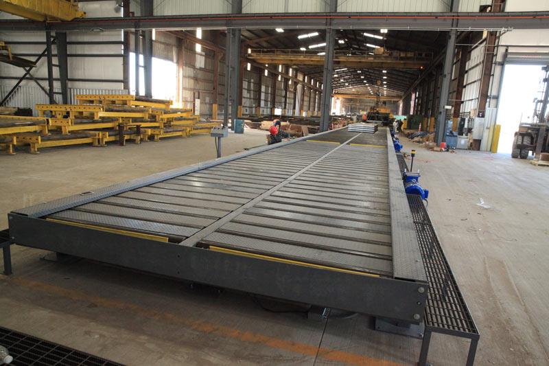 Custom Cut-to-Length Conveyor System
