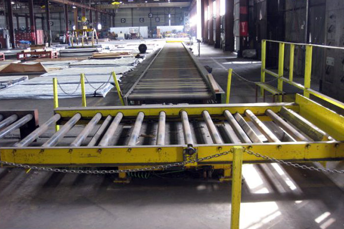 Turntable Roller Conveyor Section