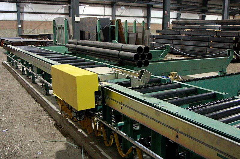 Measuring System and Work Stop for Conveyor System