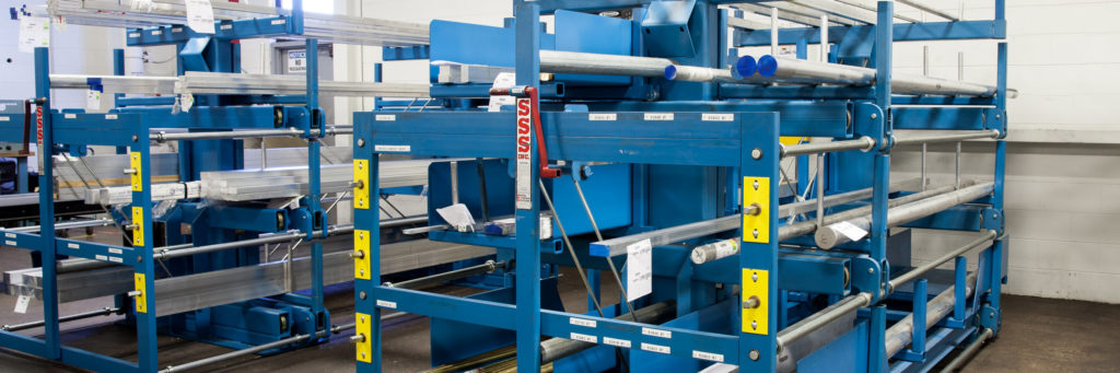 Roll Out Cantilever Rack Industrial Racking Systems
