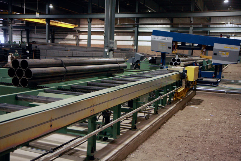 Outfeed Roller and Transfer Conveyor