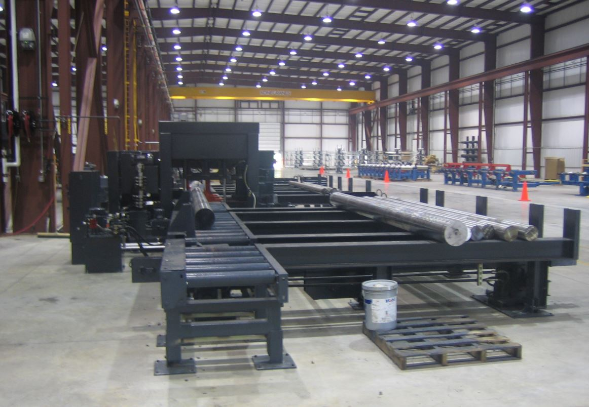 Electralloy Conveyor for steel bars and billets