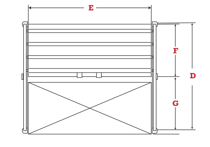 Roll-Out Sheet Rack specs
